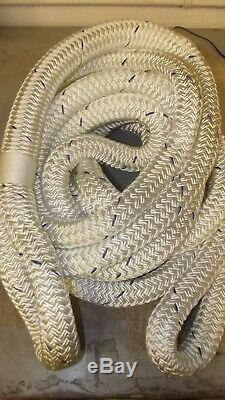 1 1/4 x 30' Double Braid Kinetic Tow Rope, Recovery Rope