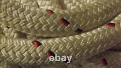 1 1/8 x 125' Double Braid Dyneema Rope, Hoist Line, Rigging Line, Mooring Line