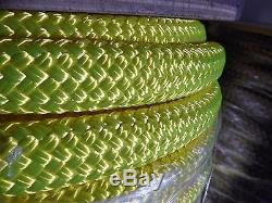 1 1/8 x 42 ft. Double BraidYacht Braid Polyester Rope. Made in the USA