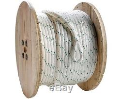 1/2 Composite Double Braid Pulling, Rope Heavy Duty, Pro Grade, 600ft 1293