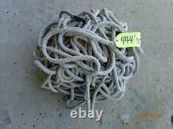 1/2 Double Braid Novabraid Novablue Premium Polyester Rope 444' Length
