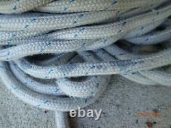 1/2 Double Braid Novabraid Novablue Premium Polyester Rope 543' Length