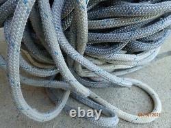 1/2 Double Braid Novabraid Novablue Premium Polyester Rope 600' Length