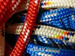 1/2 Double Braid-Yacht Braid Polyester Rope Assortment Box. 20 lb
