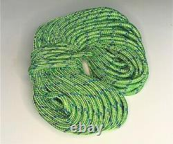 1/2 x 150 double braid polyester arborist rigging ROPE MADE IN USA