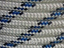 1/2 x 150 ft Pre-Cut Double Braid-Yacht Braid polyester rope hank