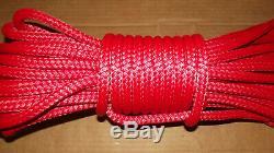 1/2 x 155' Double Braid Rope, Arborist Bull Rope, Rigging Line, Hoist Line, NEW