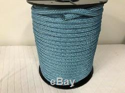 1/2 x 300 Double Braid light blue nylon Anchor Dock Hoist Winch reins lead line