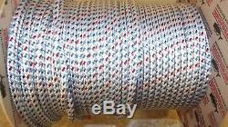 1/4 (6mm) x 170' Halyard Line, Dyneema Double Braid Line, Boat Rope - NEW