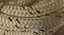 1 x 120' Double Braid Dyneema Rope, Hoist Line, Rigging Line, Mooring Line