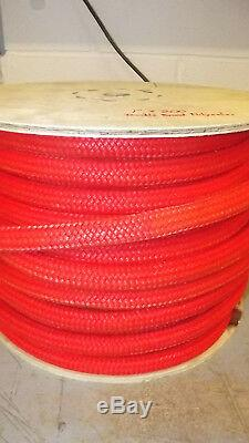 1 x 200' Double Braid Rope, Arborist Bull Rope, Rigging Line, Hoist Line, NEW