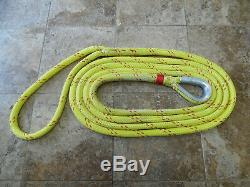 1 x 25 ft. New England Ropes Double Braid Mooring Pendant 24 Eye