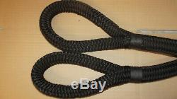 1 x 30' Double Braid Kinetic Tow Rope, Recovery Rope, Mooring Line