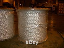 1 x 300' Double Braid cable pulling rope with 6 eyes on each end