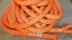 1 x 58' Double Braid Technora Rope, Hoist Line, Rigging Line, Winch Line