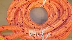 1 x 76' Double Braid Dyneema Rope, Hoist Line, Rigging Line, Mooring Line