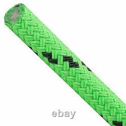 150ft X 3/4 Notch Kraken Monster Double Braid Rigging Rope 20,230lb Arborist