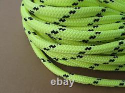 150ft X 5/8 Notch Kraken Monster Double Braid Rigging Rope 18,500lb Arborist