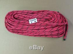 150ft X 9/16 Notch Kraken Monster Double Braid Rigging Rope 13,300lb Arborist