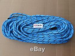 200ft X 1/2 Notch Kraken Monster Double Braid Rigging Rope 11,100lb Arborist