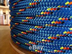 3/4 x 100 ft. Double BraidYacht Braid Polyester Rope. Made in the USA