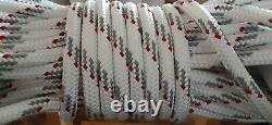 3/4 x 130 ft. Double BraidYacht Braid Polyester Rope. Made in the USA