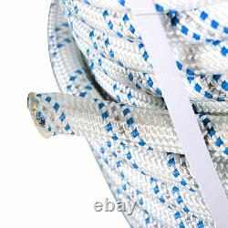 3/4 x 150' Double Braid Polyester Arborist Bull Rope Tree Rigging Line New