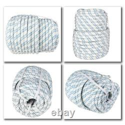 3/4 x 150' Double Braid Polyester Arborist Bull Rope Tree Rigging Line Utility