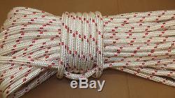 3/4 x 150' Double Braid Rope, Arborist Bull Rope, Rigging Line, Hoist Line, NEW