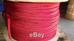 3/4 x 1800' Double Braid Poly/Nylon Rope, Bull Rope, Rigging Line, Anchor Line