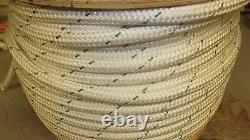 3/4 x 195' Double Braid Rope, Arborist Bull Rope, Rigging Line, Hoist Line, NEW