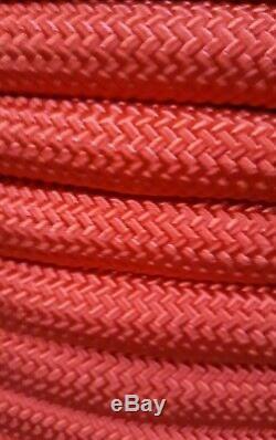 3/4 x 200' Double Braid Rope, Arborist Bull Rope, Rigging Line, Hoist Line, NEW
