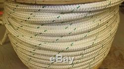 3/4 x 245' Double Braid Polyester Rope, Arborist Bull Rope, Rigging Line