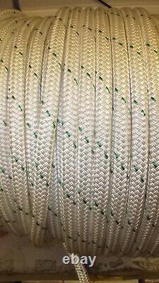 3/4 x 250' Double Braid Rope, Arborist Bull Rope, Rigging Line, Hoist Line, NEW