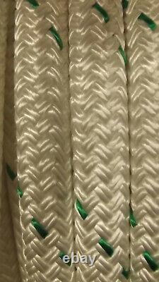 3/4 x 256' Double Braid Rope, Arborist Bull Rope, Rigging Line, Hoist Line, NEW