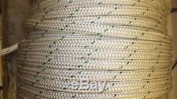 3/4 x 300' Double Braid Polyester Rope, Arborist Bull Rope, Rigging Line