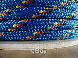 3/4 x 300 ft. Double BraidYacht Braid Polyester Rope Spool. Made in the USA