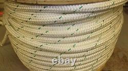 3/4 x 355' Double Braid Rope, Arborist Bull Rope, Rigging Line, Hoist Line, NEW