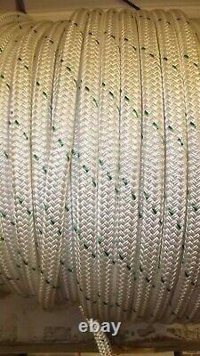 3/4 x 565' Double Braid Rope, Arborist Bull Rope, Rigging Line, Hoist Line, NEW