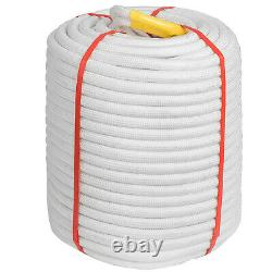 3/8 Double Braid Polyester Rope 300FT, 8400lbs Breaking Strength