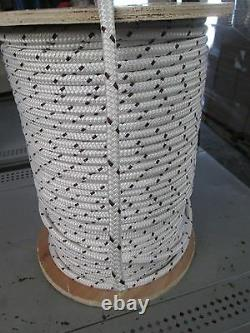 3/8 X 150' DOUBLE BRAID POLY/KEVLAR CABLE PULLING ROPE9100Lb Save 30% CLOSEOUT