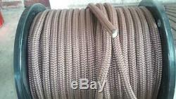 300' 5/8 Yacht Double Braid Line, Rope NEW USA contact for best ship $/free pu