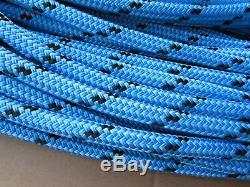 300ft X 1/2 Notch Kraken Monster Double Braid Rigging Rope 11,100lb Arborist