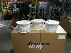 38x300' Composite Double Braided Pulling Rope Spliced Eyes At Each End (new)
