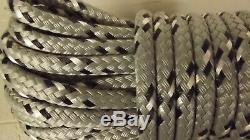 5/16, 8mm x 185' Double Braid Dyneema Halyard Line, Jibsheets, Boat Rope - NEW