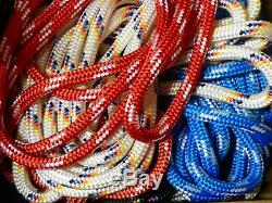 5/8 Double Braid-Yacht Braid Polyester Rope Assortment Box. 30 lb