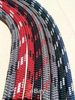 5/8 x 100' Sailboat Rope Double Braid Polyester Halyard Sheet Marine Rope