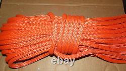 5/8 x 115' Double Braid Rope, Arborist Bull Rope, Rigging Line, Hoist Line, NEW
