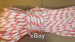 5/8 x 130' Double Braid Rope, Arborist Bull Rope, Rigging Line, Hoist Line, NEW