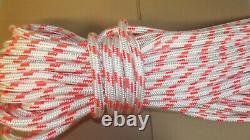 5/8 x 135' Double Braid Rope, Arborist Bull Rope, Rigging Line, Hoist Line, NEW
